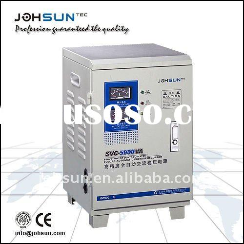 SVC-5KVA single phase servo motor control electrical power stabilizer