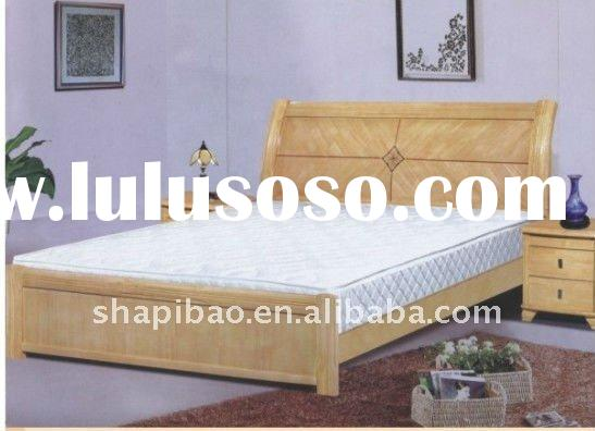 home furniture high quality timber beds simple design