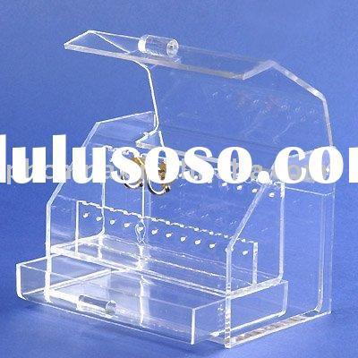 Acrylic Jewelry Box,Perspex Earring Holder,Acrylic Jewelry Display Stand (SJD-21)