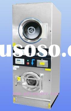 10kg electric heating commercial washer and dryer combo machine