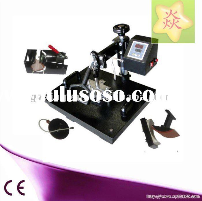 4 in 1 Combo Heat Press Machine For T Shirt,Cap,Mug And Plate