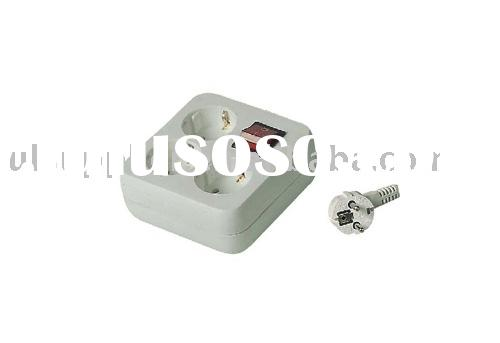 GS/CE socket outlet /electrical socket/Multiple socket outlet (09-PTGSF03K)
