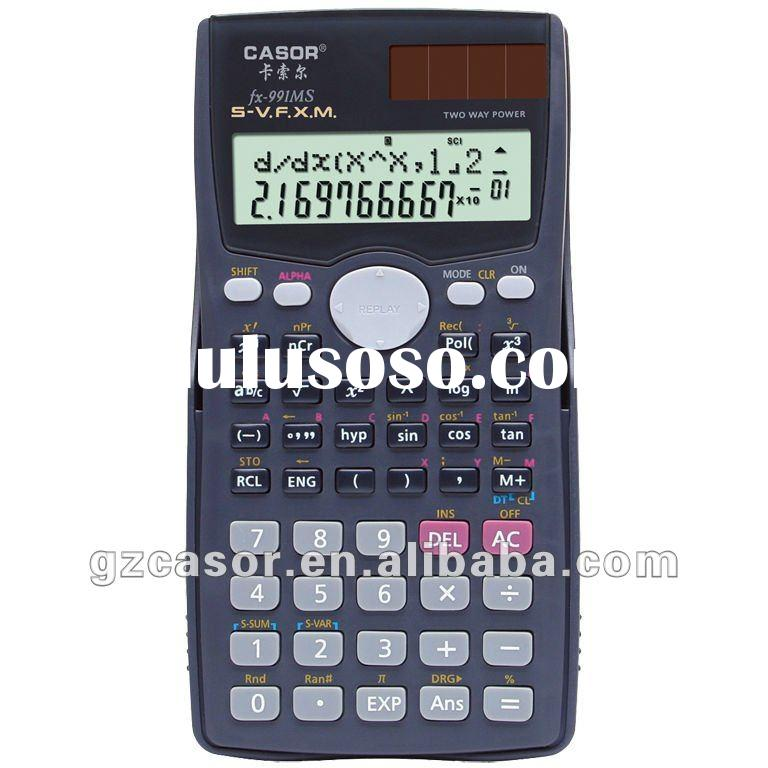 cheap price and good quality scientific calculator FX-991MS with 240 functions