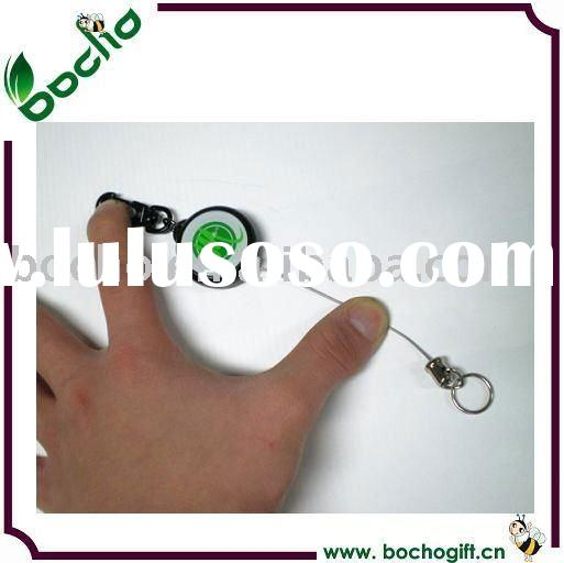 2012 steel cord retractable badge holder