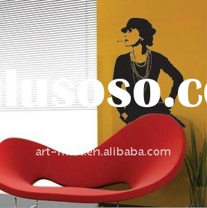 Removable Vinyl Wall Sticker Decals - Coco Chanel Wall Sticker