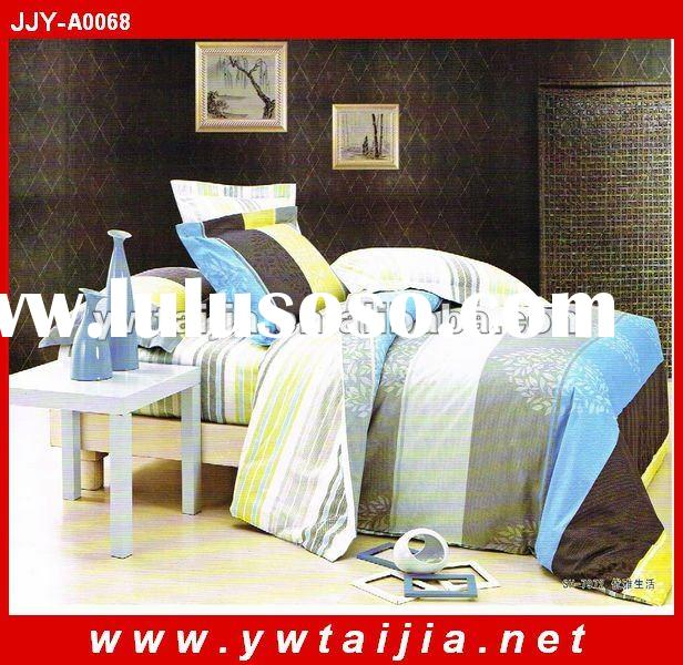 2012 new arrival 100%cotton duvet covers with zipper