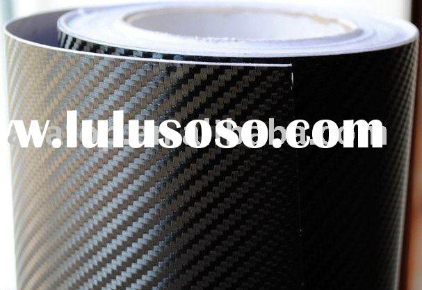3D Black Color Carbon Fiber vinyl wrap carbon sticker