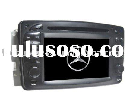 7inch car dvd player for mercedes-benz E-W210(1998-2002.1) / C-W203(2000-2005) / A-W168(1998-2002.1)