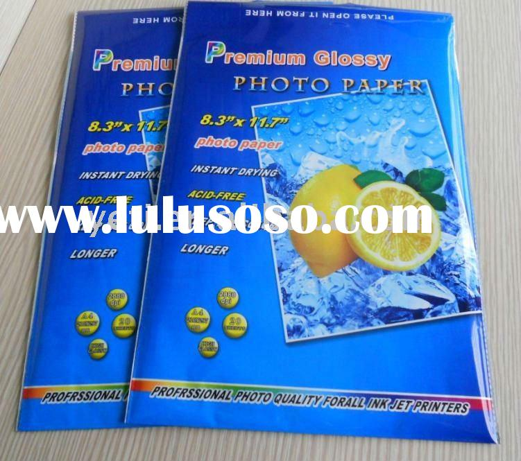 Premium Inkjet Glossy Photo Paper