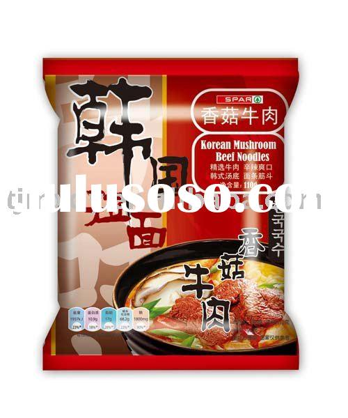 Rammen fried instant noodles
