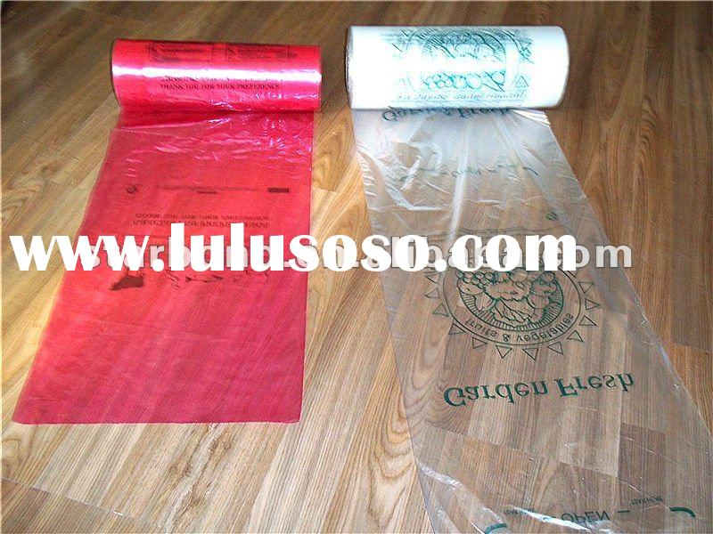 durable plastic bags on roll