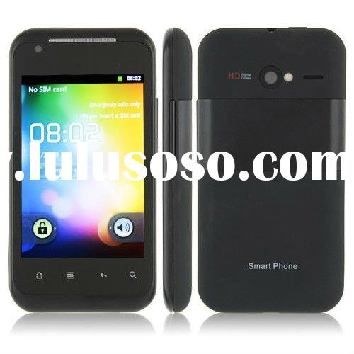 G20 Cheap 3G Android phone MTK6573 3.5 inch capacitance Screen Dual SIM Dual Camera WiFi TV GPS S610