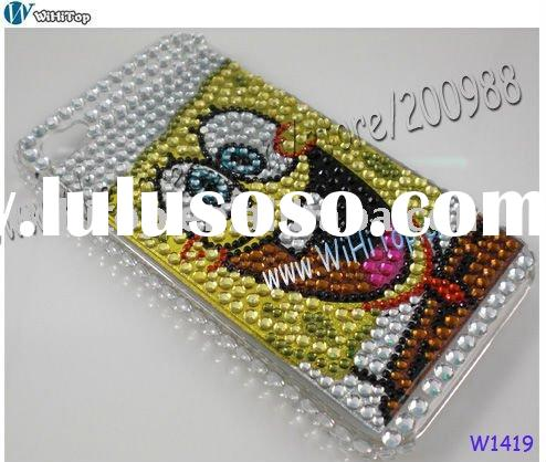 Spongebob Squarepants Bling Case for iPhone 4. For iPhone hello kitty blink case