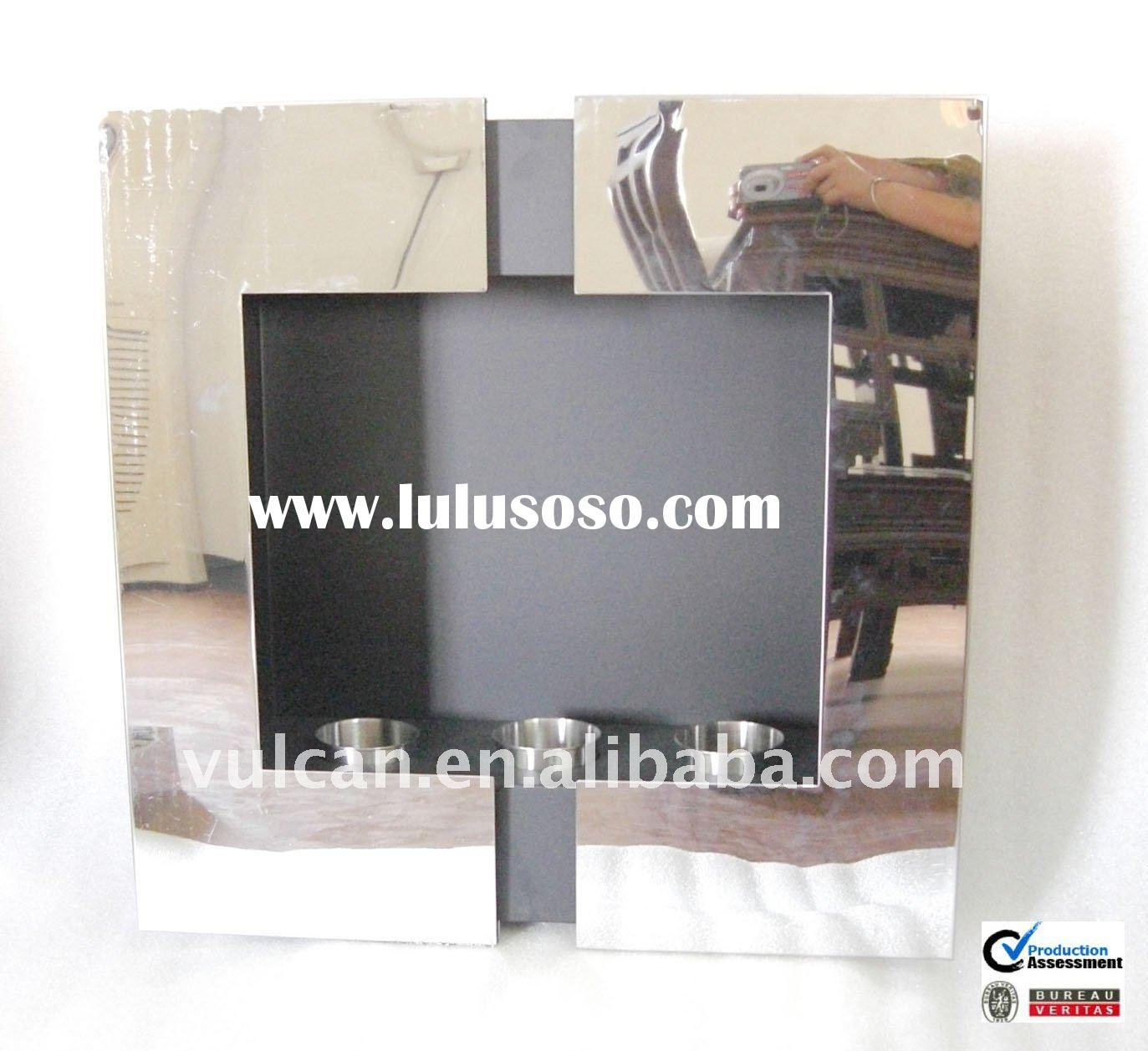 Stainless steel Wall mounted ethanol fireplace