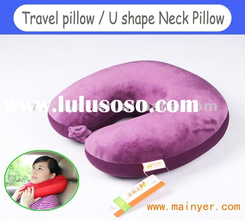 Plush Travel U Neck Pillow,Neck Cushion.