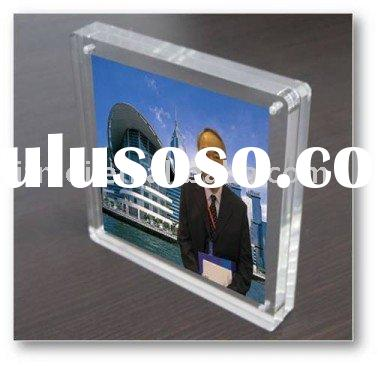 4x5 inch acrylic photo frame stand
