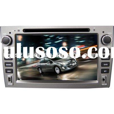 "7"" 2-Din Car DVD player for Peugeot 308/ 408 with 8CD Virtual,USB,SD,FM,IPOD,BT,TV,GPS and IPHO"