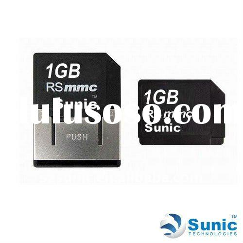 High quality RSMMC MEMORY CARD 1GB