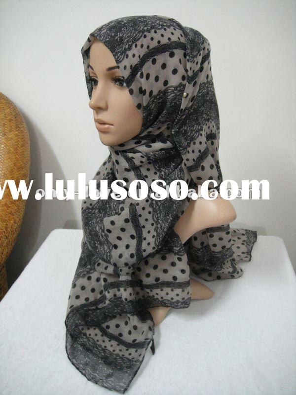 wholesale fashion newest design arabic muslim long scarves,flowers printed,assorted colors tc018