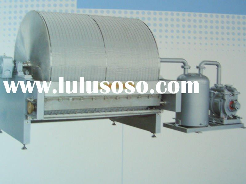 Automatic tapioca starch rotary vacuum filter