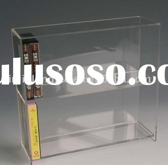 Double layers plexiglass stand ,CD player holder