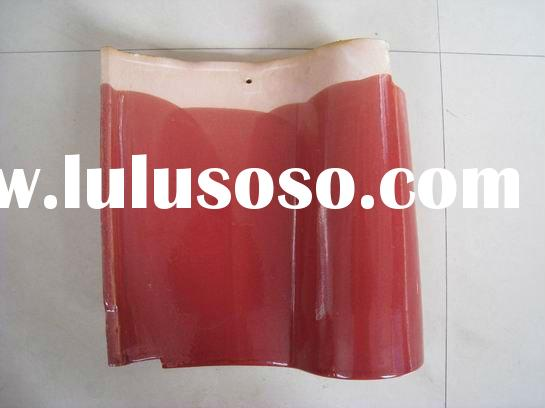 Spanish roof tile Rose red