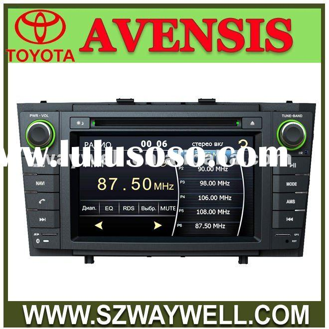 Toyota Avensis Car Radio DVD player with GPS navigation Virtual 8 disc