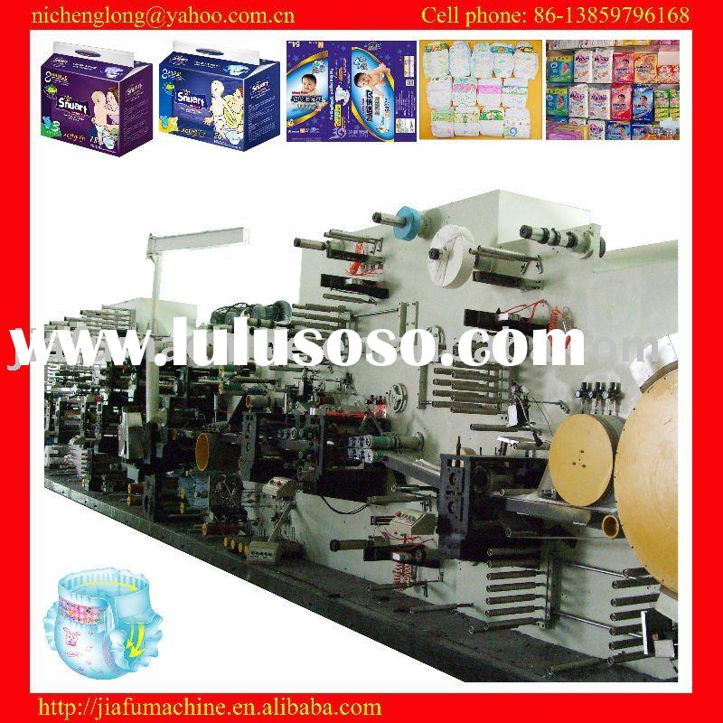 JF-NK-350 high-speed automatic baby diaper machine, raw materials support, high-quality diapers maki