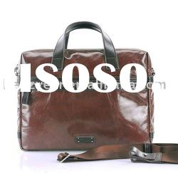 L1010A-1 Men's Vintage Genuine Leather Briefcase/Business Bag for Ipad 2 and laptop