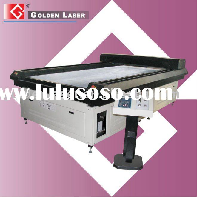 Laser Flat Bed Cutting Machine for making Dies from wooden Ply board