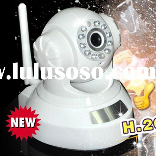 wireless IP camera, support iPhone, 3G mobiles