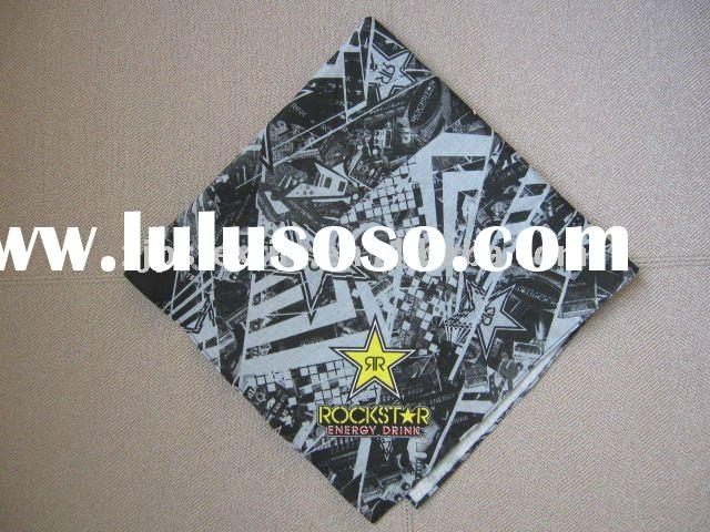 CUSTOMIZED ROCKSTAR HIP POP BANDANA