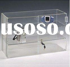 Acrylic Display Case with lock LY-3114