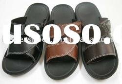 Men's leather sandals,boy's slippers,fashion slippers,Men's sandals