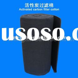 carbon filter media Activated carbon filter cotton factory