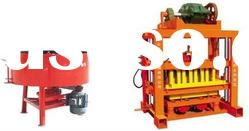 concrete block making machine price in india QTJ4-40