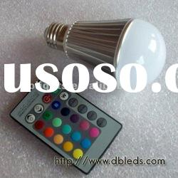New rgb led bulb,9W RGB LED bulb light