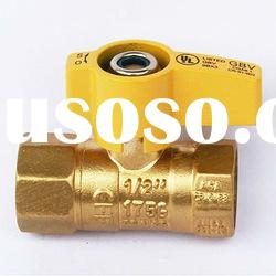 Gas Brass Ball Valve (Female Thread)