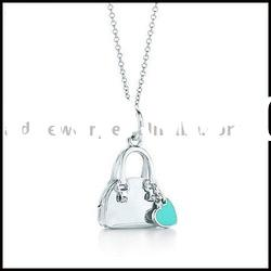 Hot 925 silver necklace & fashion charms jewelry