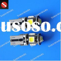 T10 5SMD canbus led car interior lights