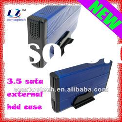 "3.5"" sata to usb enclosure sata external hard drive case"