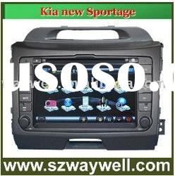 Kia new Sportage Car DVD GPS Navigation Bluetooth Radio IPOD Touch Screen Video Audio Player