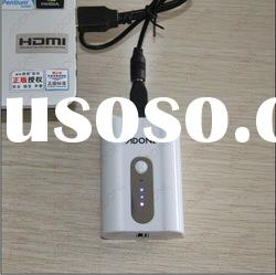 Travel charger 5200mAH Mobile Phone Power bank charger for notebook/mp3 player/phone