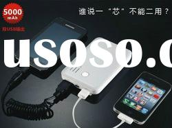Universal 5000mAh Power bank, Mobile Power, Portable Charger for iphone
