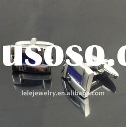 fashion mazarine stainless steel cufflink back popular in Europe and American