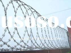 manufacturer of razor barbed wire mesh (ISO9001:2008)
