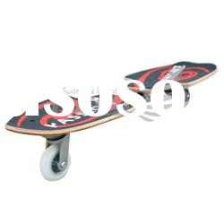 2 Wheels Rocking Skate board with maple deck Model: SB012