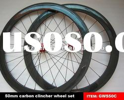 50mm clincher carbon wheels 700C road bike wheels