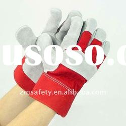 Full Palm Cow Split Leather Rigger Gloves/ Working Gloves/ Work Gloves/ Leather Gloves