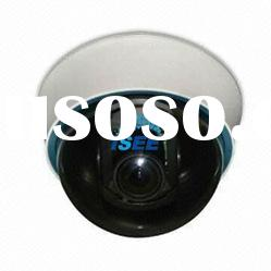 CCTV Dome Camera with 700TVL Resolution, 4 to 9mm Manual Zoom Lens and 3-axis Built-in Bracket